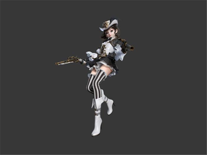 《新神魔大陆》手游职业曝光:玩枪的矮人族萝莉