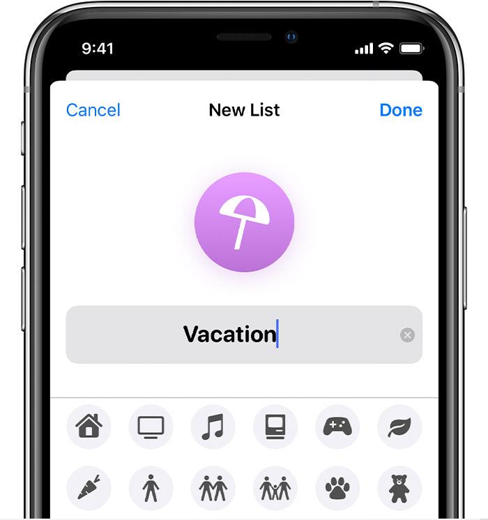如何通过列表整理 iPhone 提醒事项?