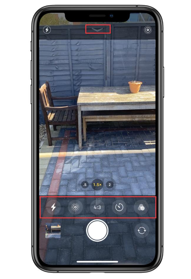 iPhone 11 拍摄小技巧:打开相机中的隐藏附件栏