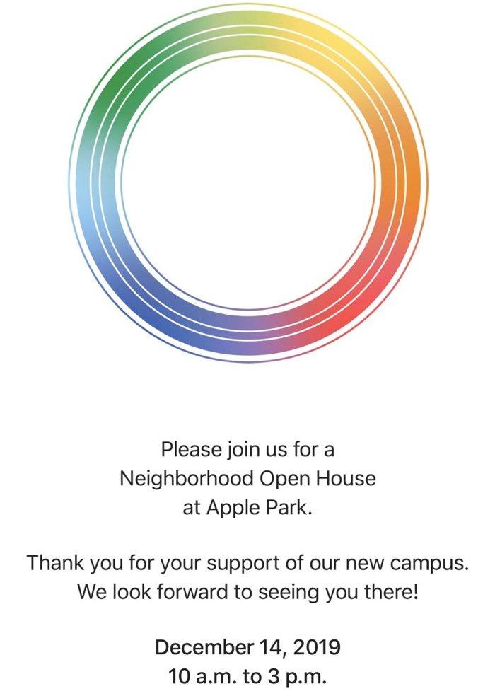 苹果将开放 Apple Park,邀请附近居民举办开放日活动