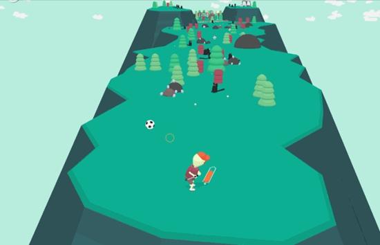 IGN2019年度最佳手游《万物皆可高尔夫》,打场世界最鬼畜的球吧!