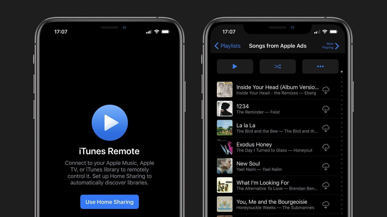 时隔一年,苹果发布 iTunes Remote 新版本