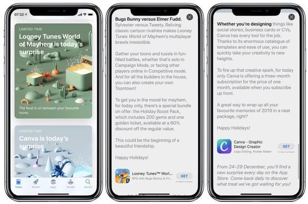 """苹果将于 12 月 24 日至 29 日在 App Store 上提供""""惊喜"""""""