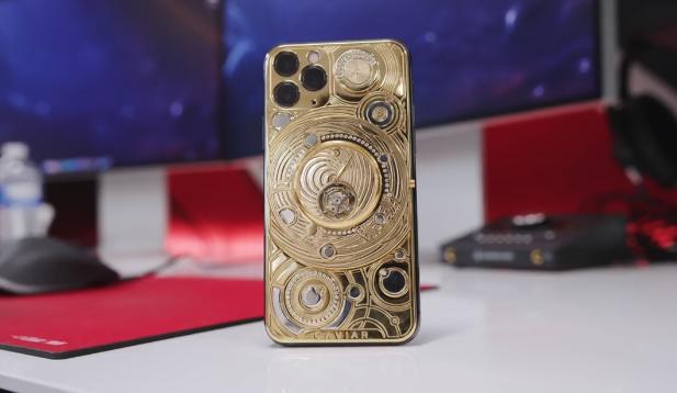 全球最贵!10 万美元的 iPhone 11 Pro 鉴赏