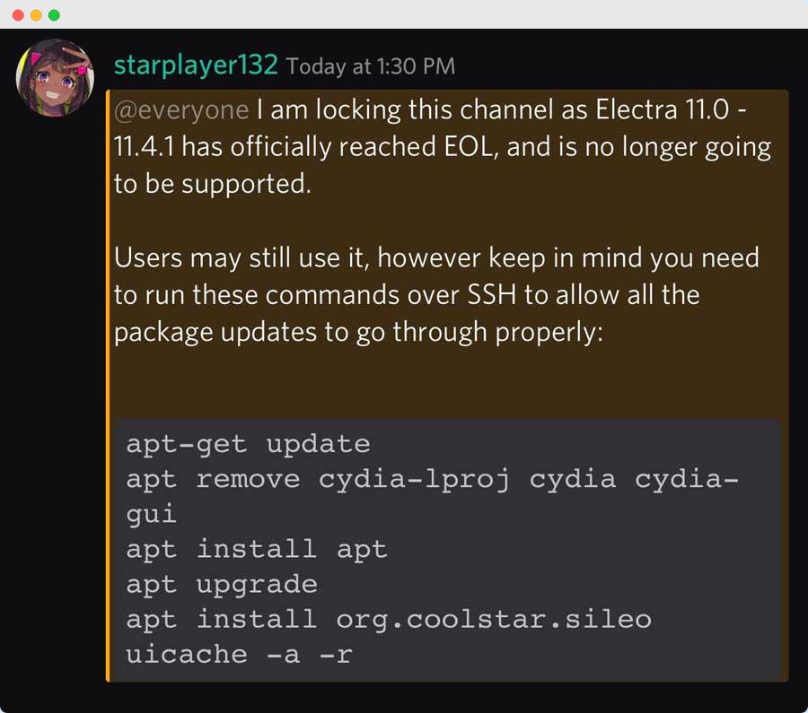 iOS 11 越狱工具 Electra 停止更新,兼容机型依旧可用