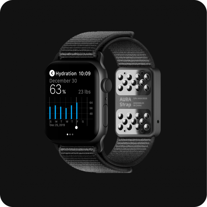 AURA 智能表帶問世,讓 Apple Watch 更智能