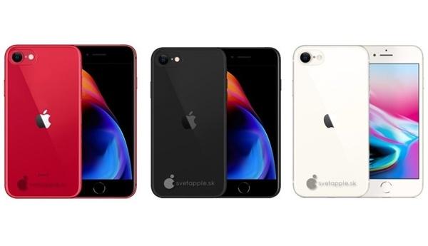 iPhone SE2全新渲染圖曝光 紅黑白三色
