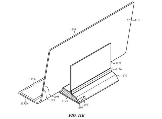 未来 iMac 长这样?屏幕延伸到桌面并可触控