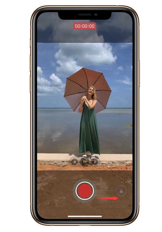 如何使用 iPhone 11 的快速录制功能?