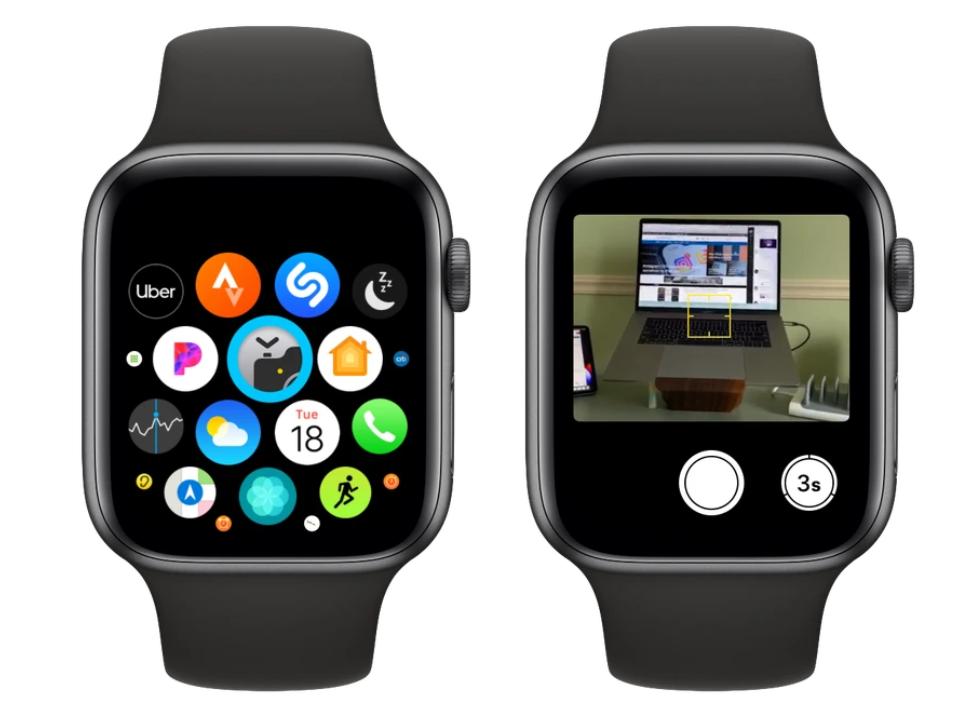 拍摄技巧:使用 Apple Watch 远程控制 iPhone 相机