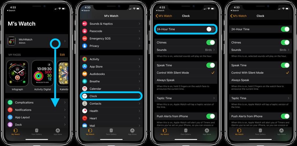 如何在 iPhone 和 Apple Watch 上启用「24 小时制」?