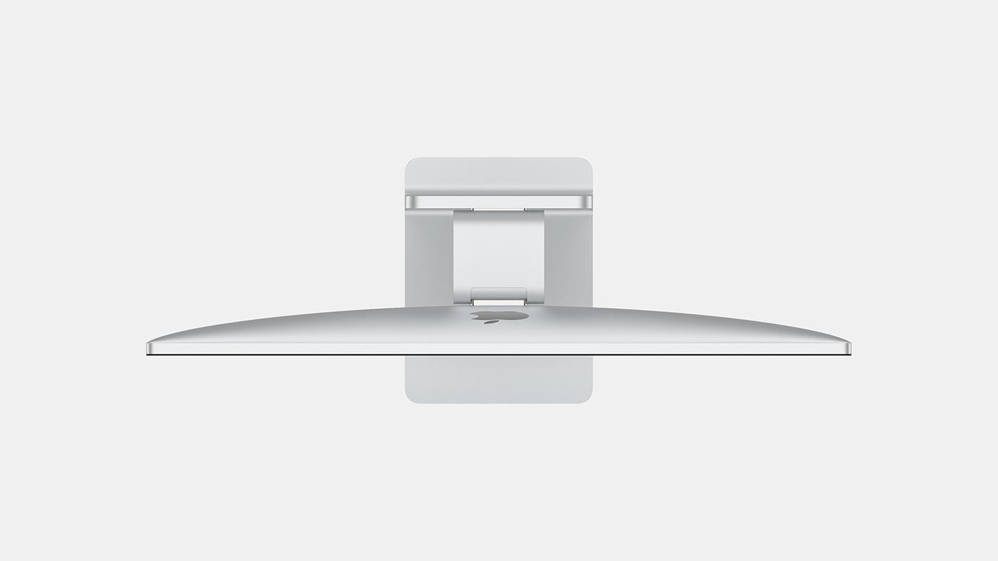 全新 iMac 概念渲染:窄边框 与 Pro Display XDR 结合