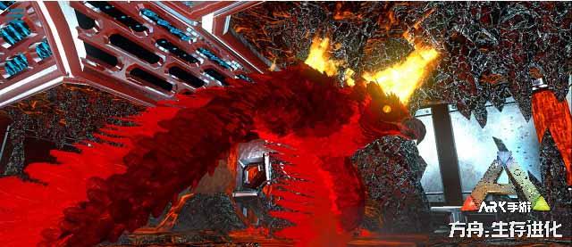 《方舟:生存进化》手游新地牢扭曲渡鸦墓穴上线,无解BOSS火焰巨鹰首登场