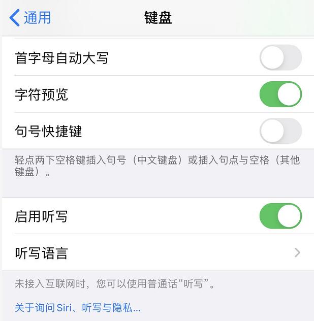 iPhone 11 如何打开语音输入功能?