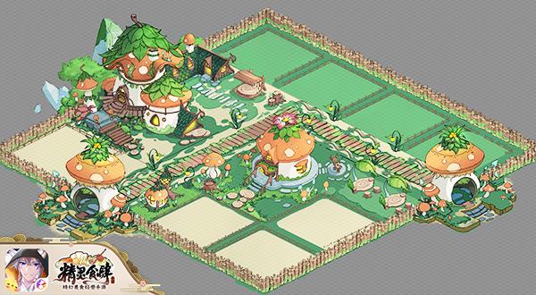 《精灵食肆》暖春游园季 装点你的奇妙异世界花园