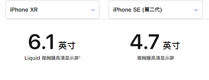 苹果新 iPhone SE 与 iPhone XR 对比:看看哪款更适合你