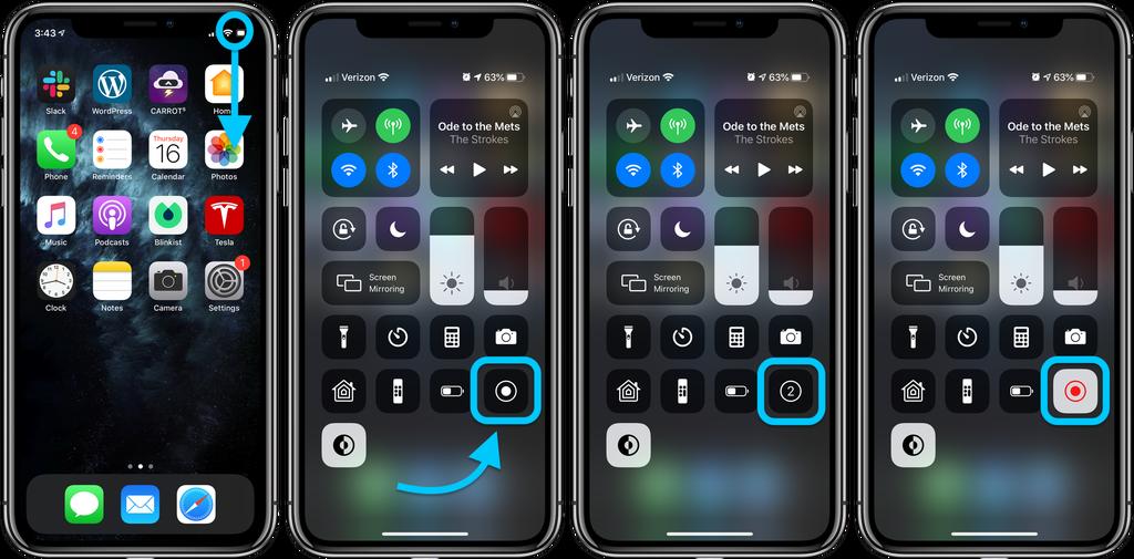 iOS 13 教程:如何在 iPhone 或 iPad 上录制屏幕?