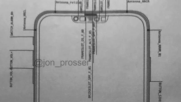 苹果 iPhone 12 最新设计图曝光:刘海更窄,硬件布局大变化
