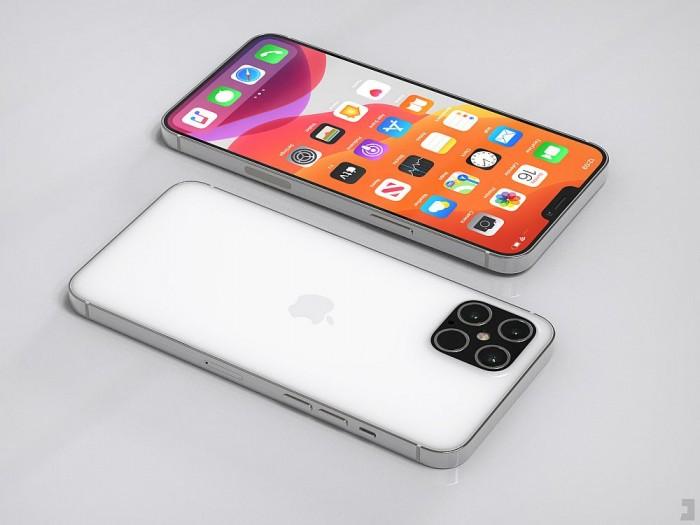 设计师展示苹果 iPhone 12 Pro 高清渲染图