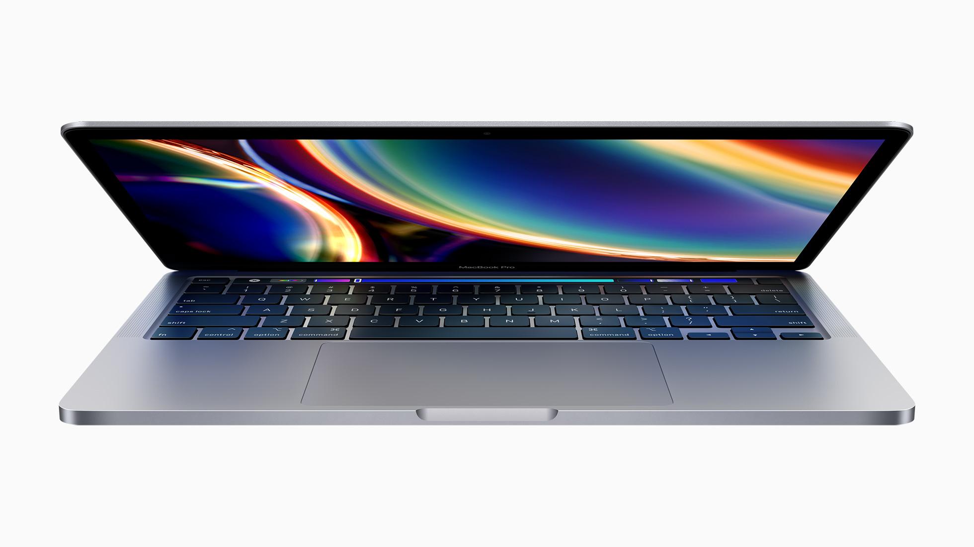 全新 13'' MacBook Pro 发布!妙控键盘回归、搭载第十代酷睿处理器