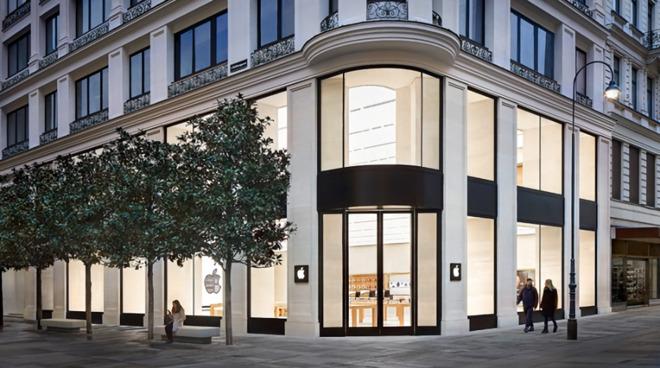 苹果公司在奥地利重开该国唯一一家 Apple Store