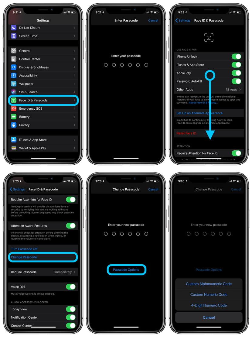 iPhone如何自定义密码?如何跳过Face ID输入密码?