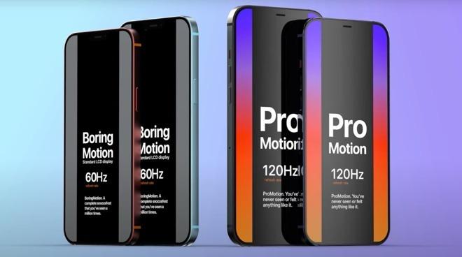 iPhone 12 屏幕提升到 120Hz 刷新率有什么好处?