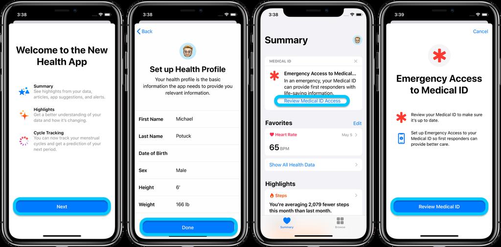 iOS 13.5 教程:如何在 iPhone 上设置或更新医疗急救卡?