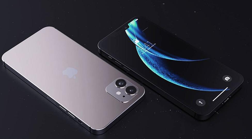 最新 5.4 英寸 iPhone 12 高清渲染图:窄刘海设计