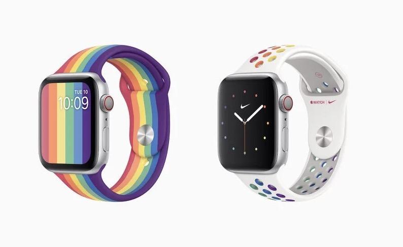 苹果发布 watchOS 6.2.5,带来全新彩虹表盘