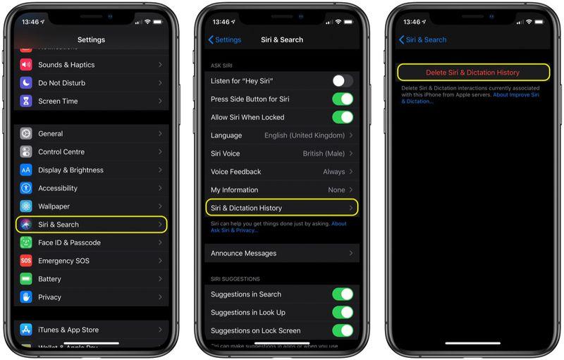 如何删除 iPhone 的 Siri 音频历史记录并退出 Siri 音频共享?