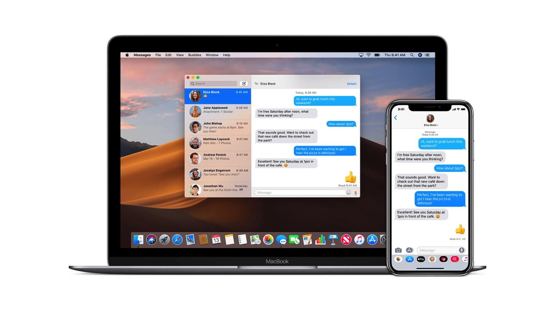 苹果正在开发 Catalyst 版 Mac 信息 App