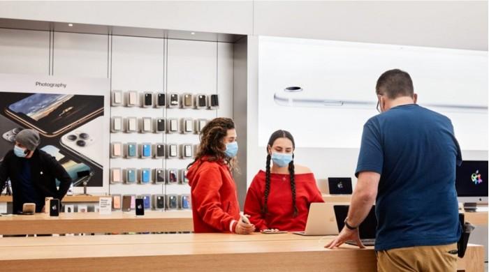 iPhone将在这周再次对外开放约 100 家英国 Apple Store 店面