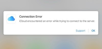 """部分用户反馈苹果 iCloud 出现 Bug:""""您选择的应用不存在"""""""