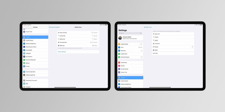 iPadOS 14 将可以改变键盘背光亮度