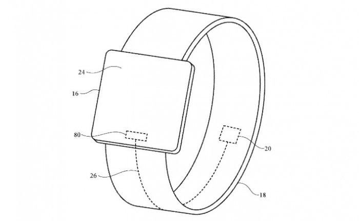 苹果新专利:未来 Apple Watch 表带可提供触觉反馈