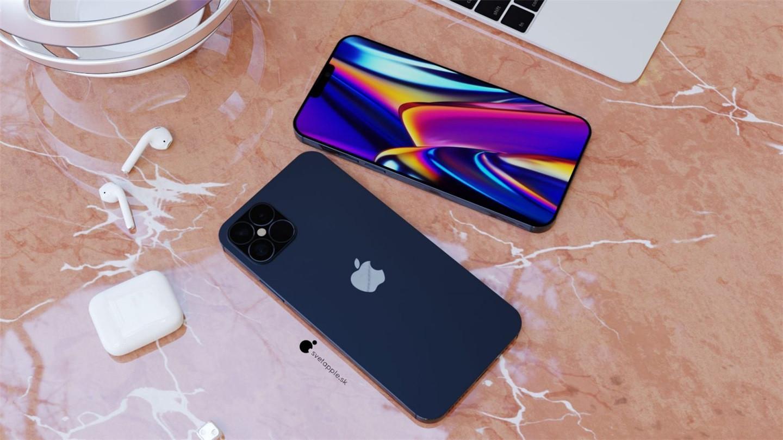 苹果 iPhone 12 Pro 海军蓝概念图亮相