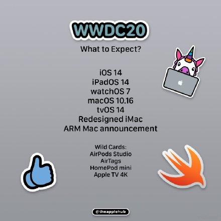 WWDC 2020 今晚举行,中文直播观看地址汇总