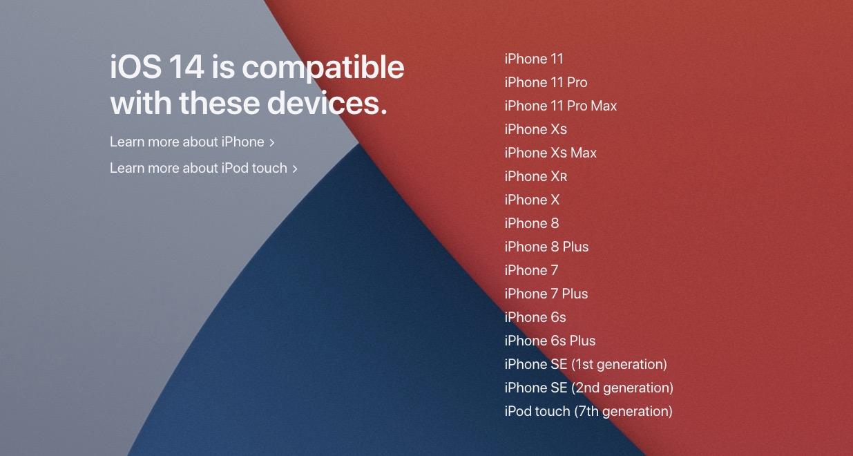 苹果正式发布 iOS 14:主屏幕大改进,多个新功能