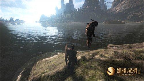 高度自由的开放世界,《黑暗与光明手游》用魔法改写生存玩法