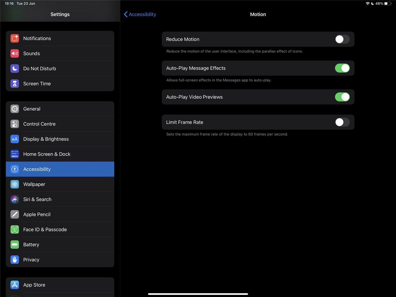 iOS 14 出现刷新率选项,预示 iPhone 12 系列有望采用高刷屏
