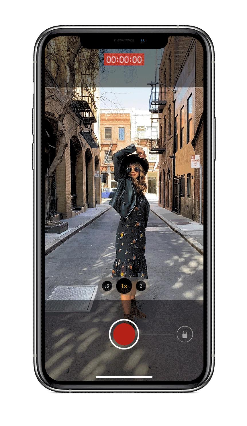 iPhone XS/XR 升级 iOS 14 后如何进行连拍?