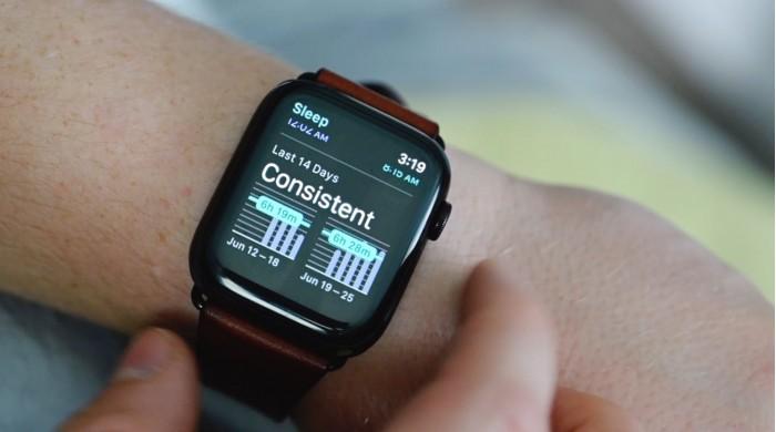 五年前苹果就已开始研发 Apple Watch 睡眠追踪功能