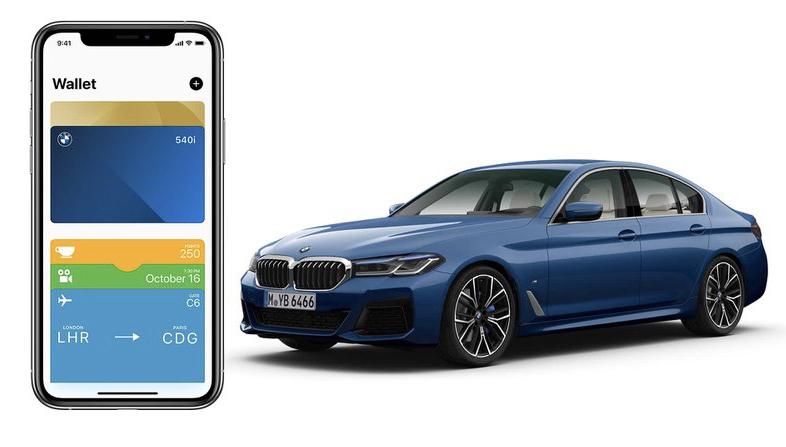宝马更新应用,支持 iPhone 车钥匙功能