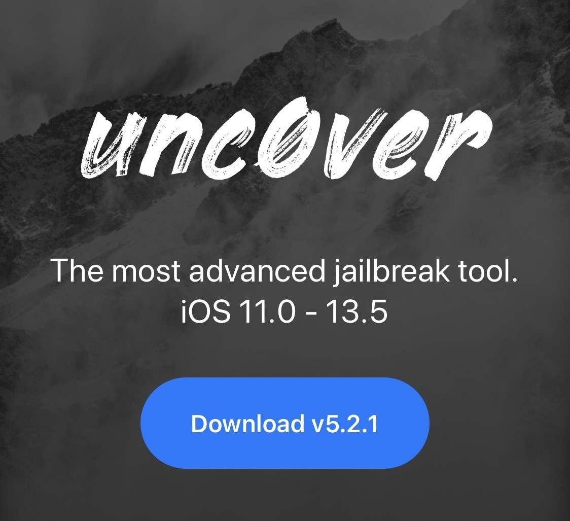 unc0ver 越狱工具 v5.2.1 正式发布,仍未支持 iOS 14 越狱