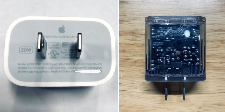 苹果 iPhone 12 Pro 20W 快充充电头获得 3C 认证