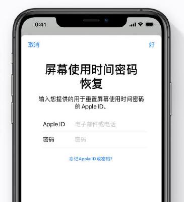 忘记 iOS 13 设备的屏幕使用时间密码怎么办?