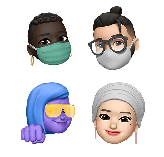 世界表情日到来,苹果提前展示 iOS 14 新 Emoji 表情符号