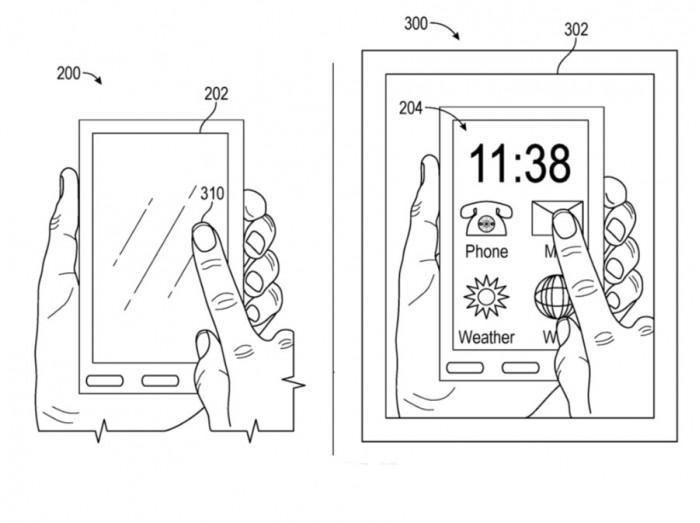 苹果新专利:眼镜将虚拟屏和 iOS 设备叠加,以增强隐私性