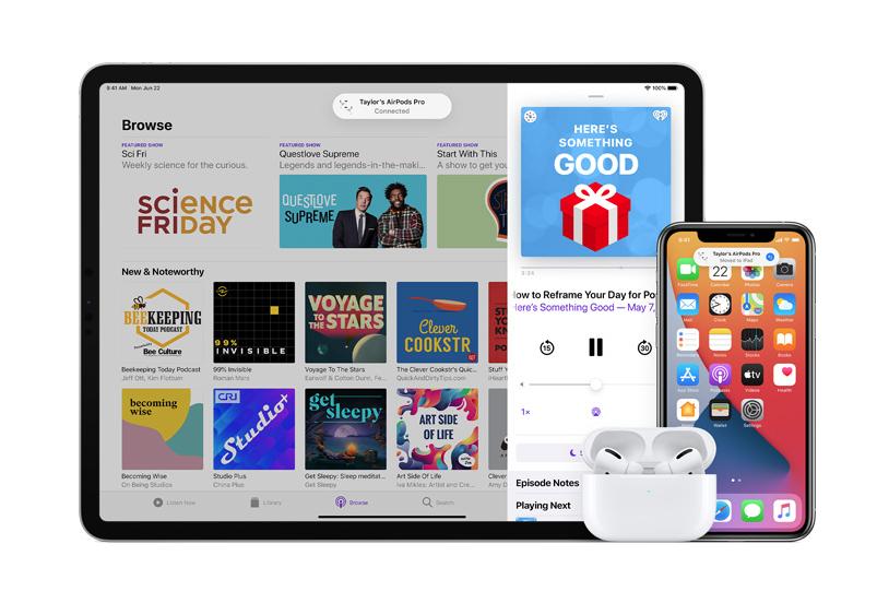 iOS 14 为 AirPods 带来哪些改进?